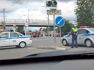 Переход у станции Крюково оцепили из-за подозрительного пакета