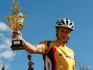 Зеленоградцы выиграли чемпионат России по велотриалу