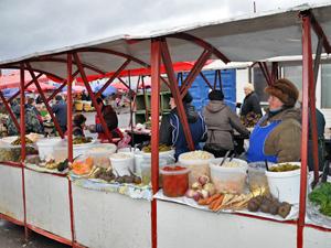 На крюковских рынках оштрафовали 28 торговцев