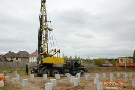 Зеленоградская компания «Богатырь» заложит надежный фундамент для любого дома