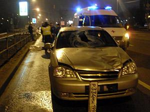 На Панфиловском проспекте погиб пешеход