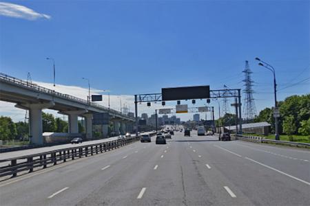 На Ленинградском шоссе запустили выделенную полосу