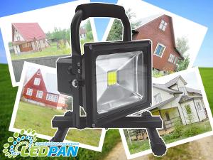 Осветительная техника для дачи от компании Ledpan
