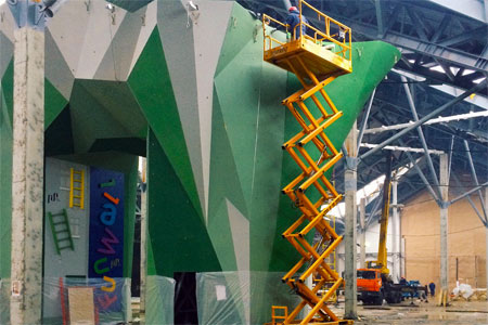 В «Зеленопарке» открылся веревочный парк со скалодромом
