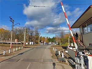 16 апреля закроют переезд у платформы Фирсановка