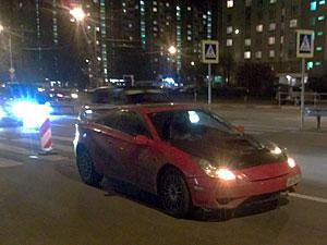 Автомобиль сбил пешехода на улице Логвиненко