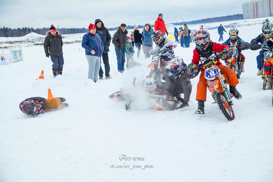 Зимний мотокросс — 2015