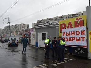 Закрытый властями стройрынок в Андреевке на следующий день возобновил работу