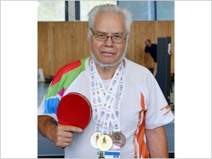 Зеленоградский пенсионер привез полный комплект медалей с игр в Турине
