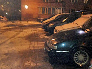 Парковка для «блатных»