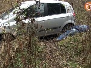 Автомобилист умер после съезда в кювет