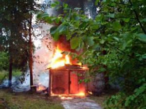 В Менделеево предотвратили лесной пожар