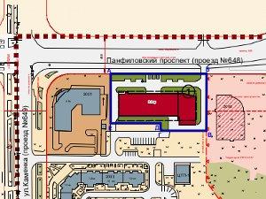 В 20-м микрорайоне хотят построить два торговых центра
