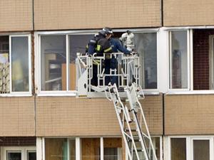 На пожаре в 11-м микрорайоне спасли двух человек