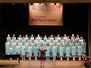 «Кантилена» стала золотым призером Всемирной хоровой олимпиады в Латвии