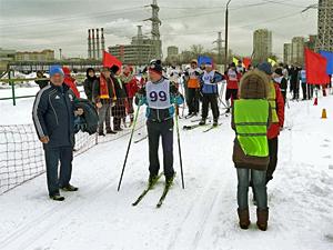 Зеленоградские педагоги завоевали «серебро» в лыжной гонке