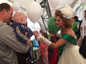 Зубная фея из «Никора» посетила 2-й МАМАслет в КЦ «Зеленоград»