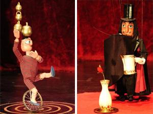В «Ведогонь-Театр» приедет цирк с марионетками