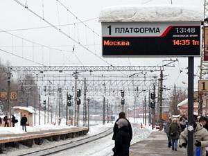 Часть электричек не будет доезжать до Ленинградского вокзала