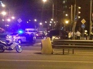 Пьяный водитель без прав устроил два ДТП во время преследования полицией