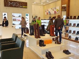 В ТК «Панфиловский» открылся салон обуви MIO