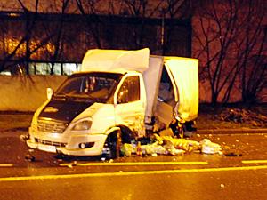 Пьяный водитель врезался во встречную «Газель»