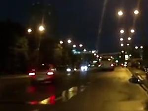 При столкновении двух легковушек на Центральном проспекте пострадал пенсионер