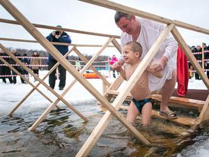 Крещенские купания — 2015