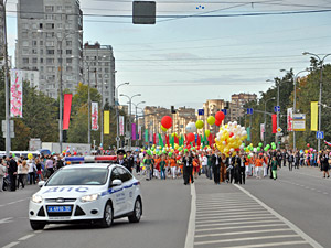 9 мая на два часа перекроют Центральный проспект