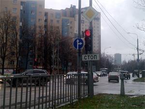 На аварийном перекрестке запретили левые повороты
