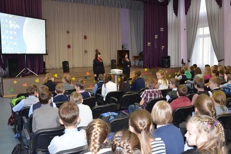 В Зеленограде сотрудники ГИБДД провели мероприятия, посвященные Всемирному дню ребенка