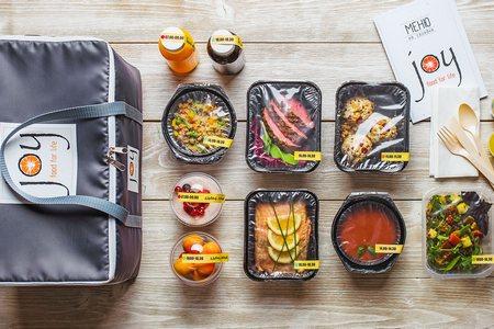 В честь открытия сервис доставки здоровой еды Joy дарит скидку 20%