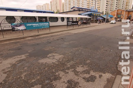 Администрации Зеленограда и Андреевки кивают друг на друга в вопросе ремонта дороги