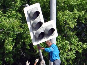 Светофоры Зеленограда переводят в «умный» режим