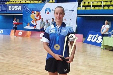 Ольга Куликова выиграла «золото» и «серебро» на европейской Универсиаде