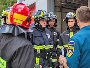 Пожарную часть в 5-м микрорайоне торжественно откроют в День города