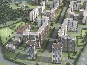 В Голубом построят новый микрорайон