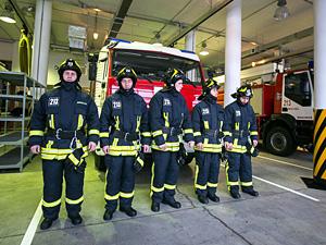Новая пожарная часть в Малино