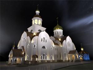 В Голубом построят два православных храма