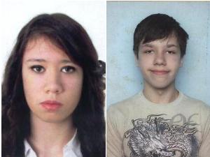 Разыскиваются несовершеннолетние Ксения Пичужкина и Илья Кущин