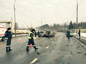 Ребенок впал в кому после ДТП с участием четырех автомобилей