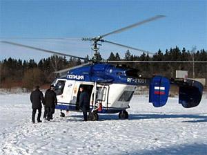 Новый глава УВД облетел Зеленоград на вертолете