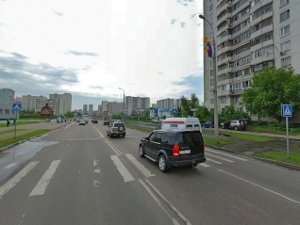 Водитель-таджик сбил женщину на Панфиловском проспекте