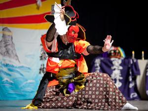 Японские танцевальные мистерии