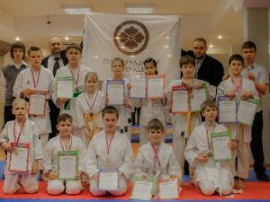 Зеленоградская федерация каратэ поздравляет победителей открытого турнира района Савелки