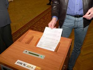 Избирателей приглашают на репетицию выборов