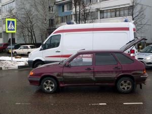 На улице Гоголя машина сбила пенсионерку