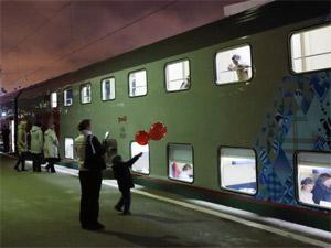 С февраля по ОЖД начнут ходить двухэтажные поезда