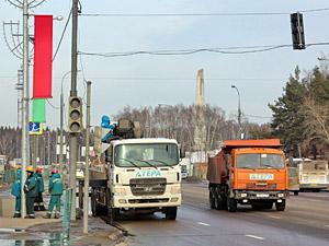 25 февраля у Быкова болота заработает регулируемый переход