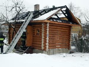 В садовом товариществе «Энергетик» сгорела баня